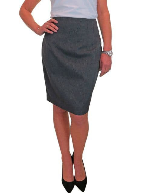 Tailored Knee Length Pencil Skirt